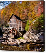 Autumn Morning In West Virginia Acrylic Print