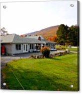 Autumn Mountain Golf Course 6 Acrylic Print