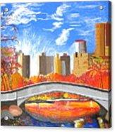Autumn Oasis Acrylic Print