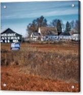 Autumn On A Rural Farm Acrylic Print