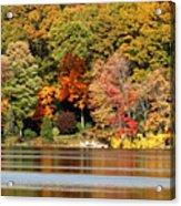 Autumn On Canoe Brook Lake Acrylic Print