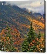 Autumn On Mount Mansfield Vermont Acrylic Print