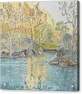 Autumn On The Ausable River Acrylic Print