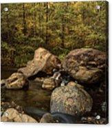 Autumn On The Creek  Acrylic Print