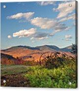 Autumn On The Farm Panorama Acrylic Print