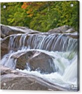 Autumn On The Kancamagus Acrylic Print