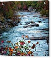 Autumn On Wilson Creek Acrylic Print