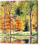 Autumn Oranges Acrylic Print