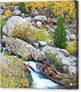 Autumn Peace Acrylic Print