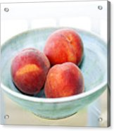 Autumn Peaches Acrylic Print