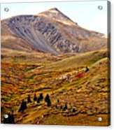 Autumn Peaks In The Rockies Acrylic Print