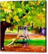 Autumn Playground 1 Acrylic Print
