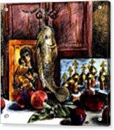 Autumn Prayer Acrylic Print