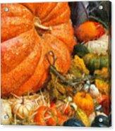 Autumn - Pumpkin - All Of My Relatives Acrylic Print
