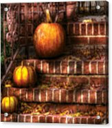 Autumn - Pumpkin - Three Pumpkins Acrylic Print
