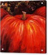 Autumn Pumpkins Acrylic Print