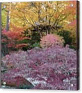 Autumn Purple Acrylic Print