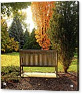 Autumn Quiet Acrylic Print