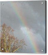 Autumn Rainbow In West Virginia Acrylic Print
