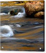 Autumn Rapids Acrylic Print