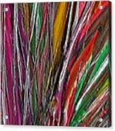 Autumn Reeds Acrylic Print