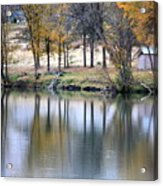 Autumn Reflection 16 Acrylic Print