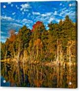 Autumn Reflection II Acrylic Print