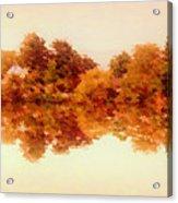 Autumn Reflections Acrylic Print