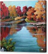 Autumn Reflexions 1 Acrylic Print