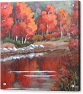 Autumn Reflexions 2 Acrylic Print