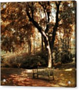 Autumn Repose Acrylic Print by Jessica Jenney