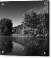 Autumn Resevoir Acrylic Print