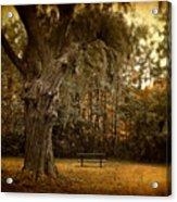 Autumn Respite Acrylic Print