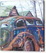 Autumn Retreat - Old Friend Vi Acrylic Print