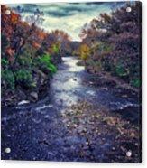 Autumn Riders On The Storm Acrylic Print