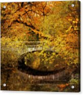 Autumn River Views Acrylic Print