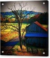 Autumn Romance Acrylic Print by Joyce Kimble Smith
