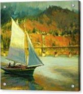 Autumn Sail Acrylic Print
