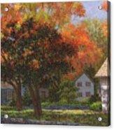 Autumn Shadow And Light Acrylic Print
