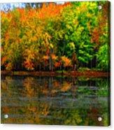 Autumn Sings Acrylic Print