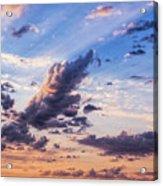 Autumn Sunrise 2 - Lyme Regis Acrylic Print