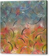 Autumn Swirl Acrylic Print