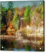 Autumn Tapestry Acrylic Print
