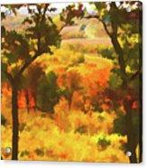 Autumn View, Montelle Winery, Augusta, Missouri Acrylic Print