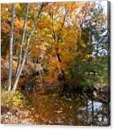 Autumn Vintage Landscape 5 Acrylic Print