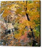 Autumn Vintage Landscape 6 Acrylic Print