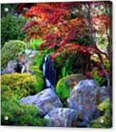 Autumn Waterfall Acrylic Print
