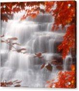 Autumn Waterfall I Acrylic Print