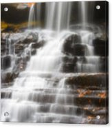 Autumn Waterfall II Acrylic Print