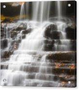 Autumn Waterfall II Acrylic Print